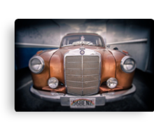 boxed-in-benz...... Canvas Print