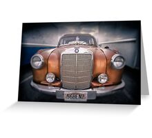 boxed-in-benz...... Greeting Card