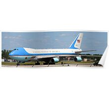 AIR FORCE ONE SOUTH BEND REGIONAL AIRPORT AUGUST 2009 Poster