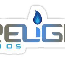 Firelight Studios Logo 2013 Sticker