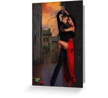 Tuscan Tango Greeting Card