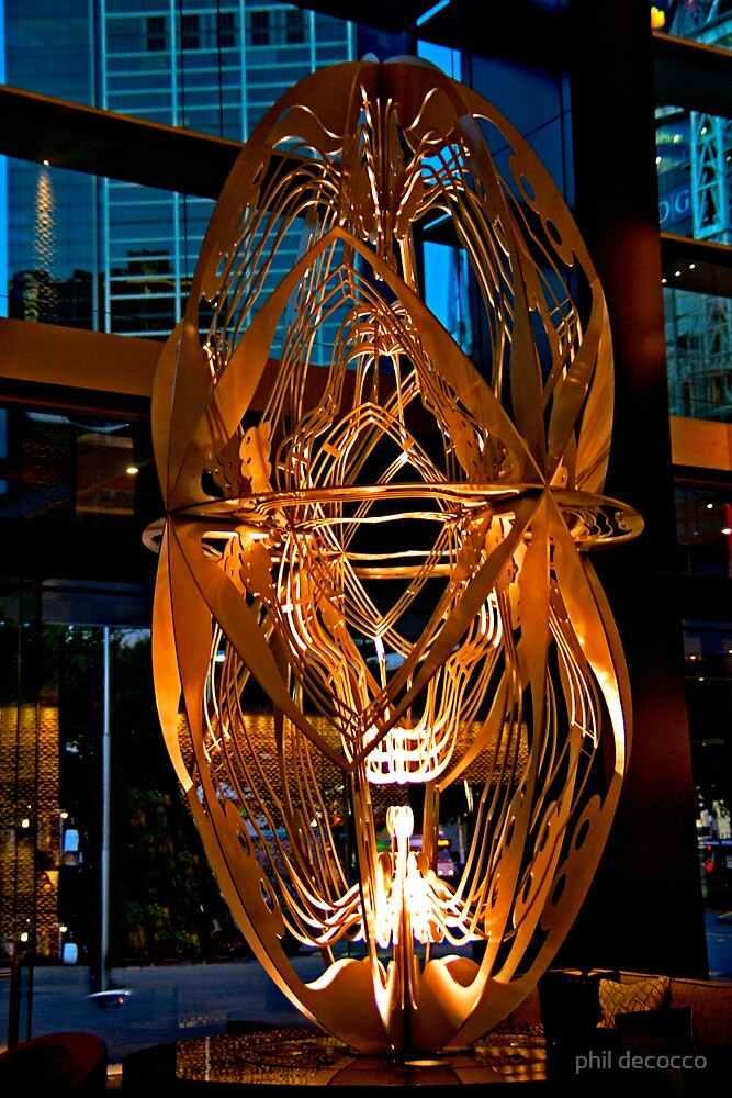 Lobby Sculpture by phil decocco