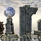 Ruins of Aleto by Sandra Bauser Digital Art