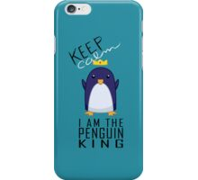 Penguin King iPhone Case/Skin