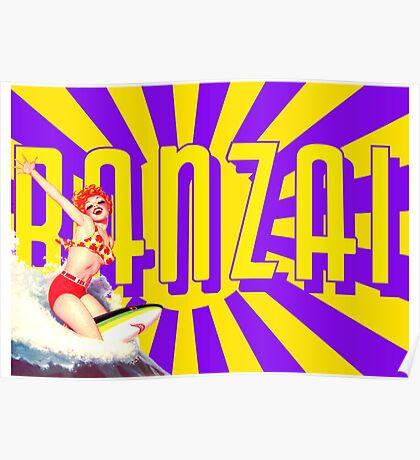 Banzai!!! Poster