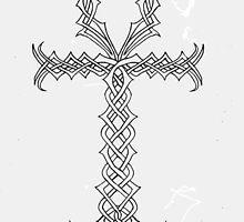 Knotwork Ankh by Jojoahatton
