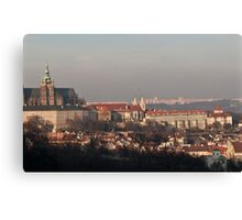From the Hills - Prague Canvas Print