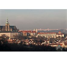 From the Hills - Prague Photographic Print