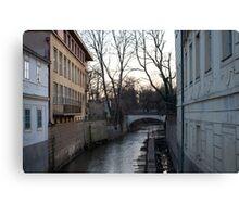 Across the River - Prague Canvas Print