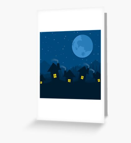 House5 Greeting Card