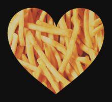 Fries Love by hunnydoll