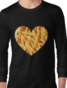 Fries Love Long Sleeve T-Shirt