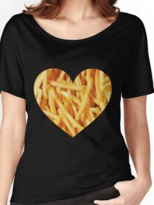 Fries Love Women's Relaxed Fit T-Shirt