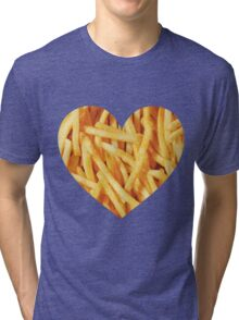 Fries Love Tri-blend T-Shirt