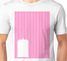 Bad Wolf (pink) Unisex T-Shirt
