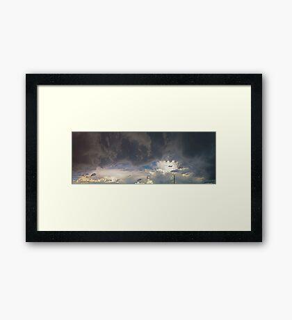 ©HCS Clouds Like War Framed Print