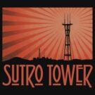 Tower of the Holy (Orange Sunburst) by sflassen