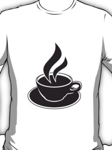 Coffee Cup Design T-Shirt