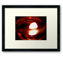 ©HS Candle Of Hope Framed Print