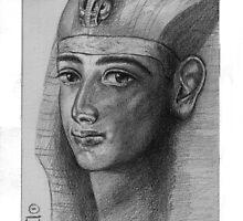 Imagining Psusennes I by Aakheperure