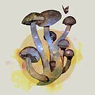 Magic mushrooms 1 by Susan Craig