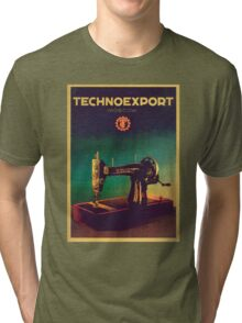 Vintage Techno Export USSR Tri-blend T-Shirt