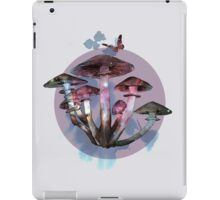 Magic mushrooms 2 iPad Case/Skin