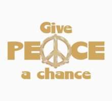 Give Peace a Chance Baby Tee