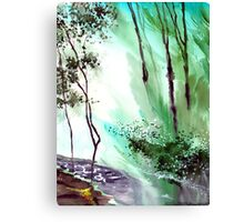 Falling Light Canvas Print