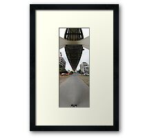 Shoes To Sky | Under The Story Framed Print