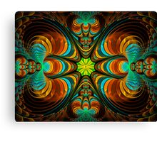 Magical Crayfishes Canvas Print