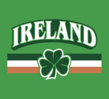 Ireland Clover Flag by Cheesybee