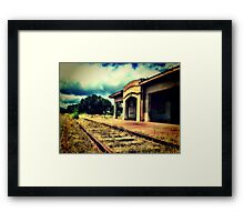Last Stop, Heaven Framed Print