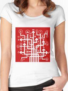 Arrow medicine Women's Fitted Scoop T-Shirt