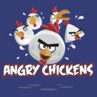 Angry Chickens 2 by Alondyte