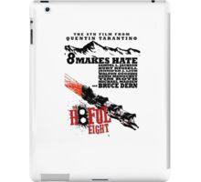 The Hate full eight quentin tarantino iPad Case/Skin