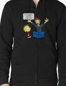 Calvin & Hobbes Doctor Who T-Shirt