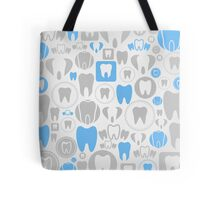 Tooth a background Tote Bag