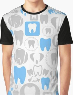 Tooth a background Graphic T-Shirt