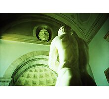 A Sturdy Back - Lomo Photographic Print