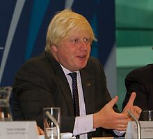 Boris Johnson at City Hall by Keith Larby