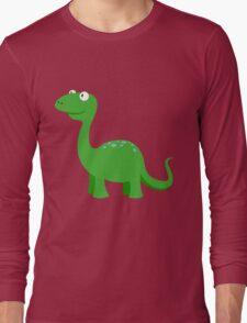 Bronty the Brontosaurus Long Sleeve T-Shirt