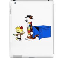 Calvin Who iPad Case/Skin