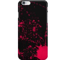 After murder black iPhone Case/Skin