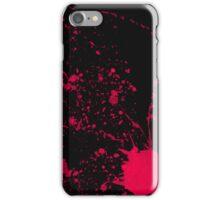 After murder black iPhone Case/Skin