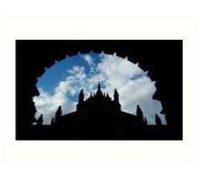 St Giles' Cathedral, Edinburgh. Art Print