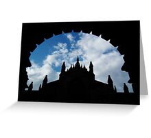 St Giles' Cathedral, Edinburgh. Greeting Card