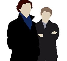 Sherlock and John by smirkingjim
