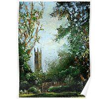 Princeton University Landscape Poster