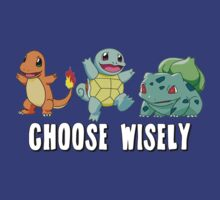Choose Wisely - Starter Pokemon by StraightEK